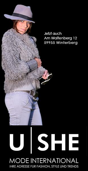 U|SHE Mode International - Geschäftseröffnung Winterberg am 18.12.2015