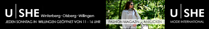 U|SHE - MODE INTERNATIONAL - Fashion Magazin Herbst 2015
