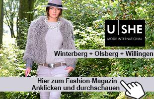 U|SHE - MODE INTERNATIONAL - Fashion Magazin Herbst 2015