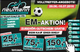 Fahrradwelt Neumann - EM Aktion