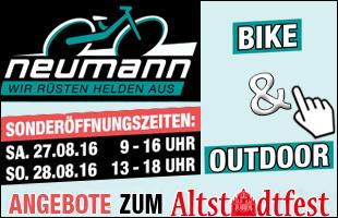 Fahrradwelt Neumann - Angebote zum Altstadtfest