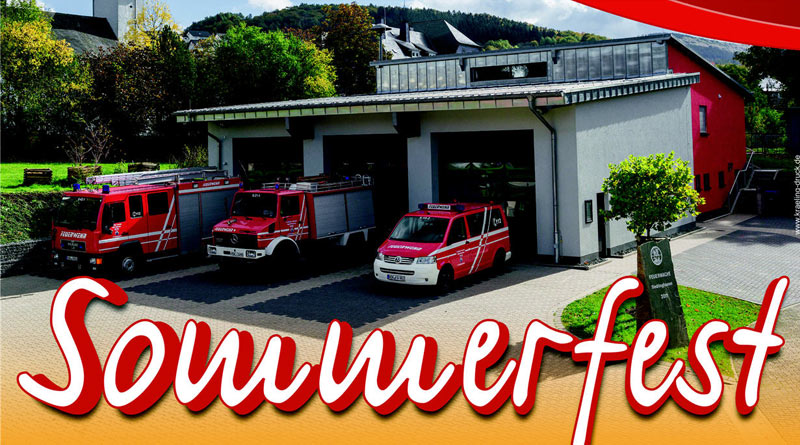 Löschgruppe Siedlinghausen lädt zum Sommerfest am 21. 08.