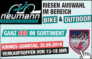 Fahrradwelt Neumann - Kirmes Sonntag geöffnet