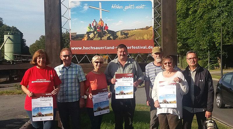 Hochsauerland Wanderfestival im Hilletal