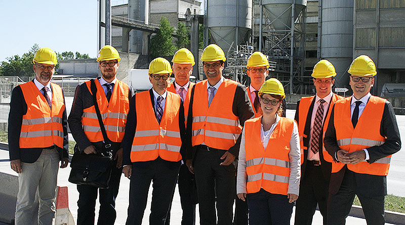 Peter Liese unterstützt Zementindustrie