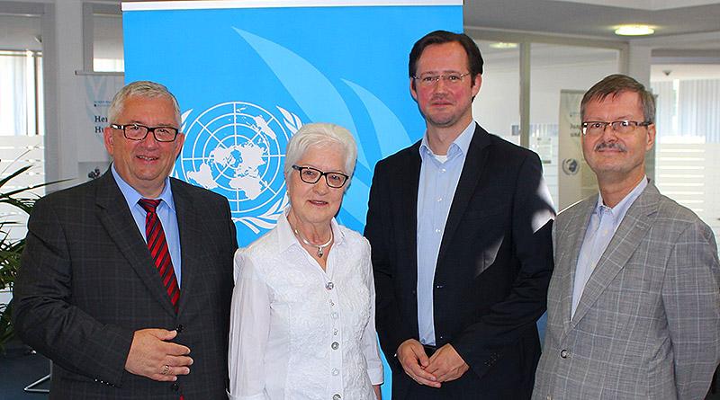 Wanderausstellung über die Vereinten Nationen