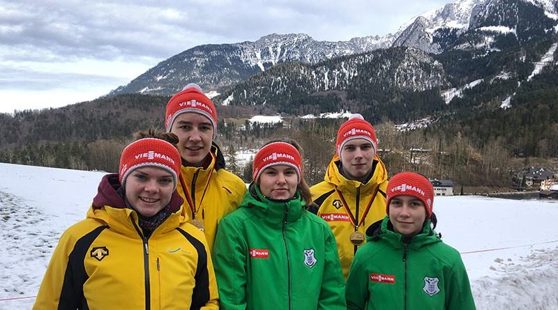 Deutsche Rodelmeisterschaften Jugend A/Junioren B am Königssee