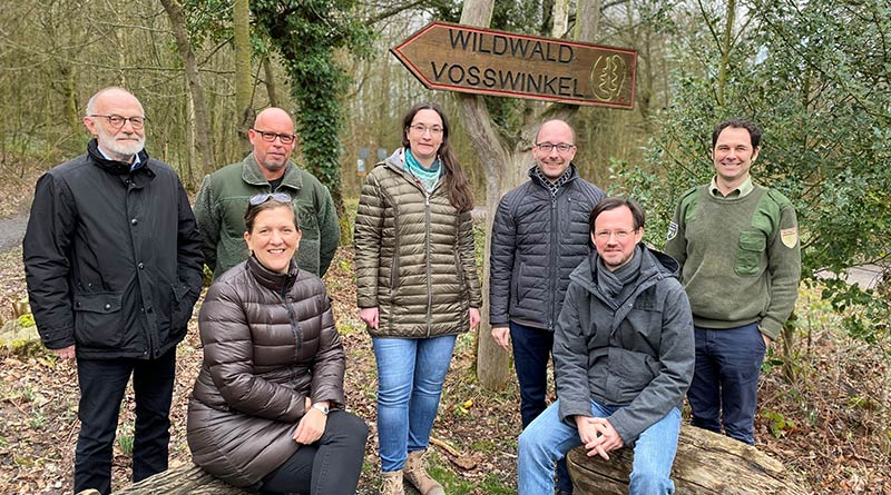 Wald in der Krise: SPD diskutierte im Wildwald Voßwinkel