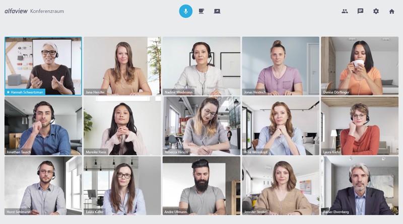 Videokonferenzsoftware