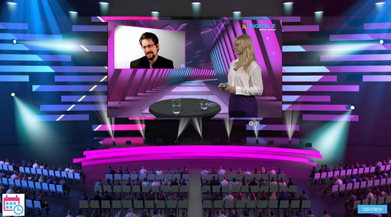 DIGITAL X DIGITAL EDITION: Edward Snowden und Judith Rakers im Interview