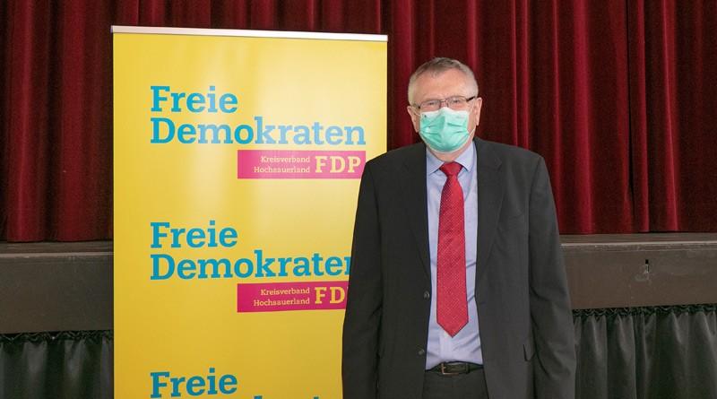 FDP Spitzenkandidat Friedhelm Walter