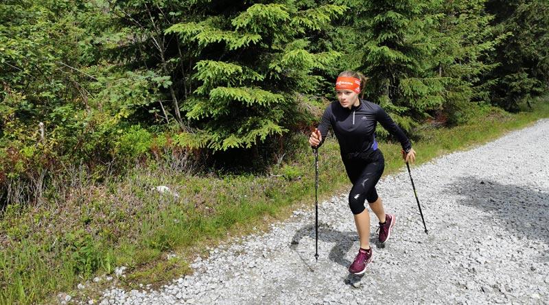 Biathletin Jana Fiedler