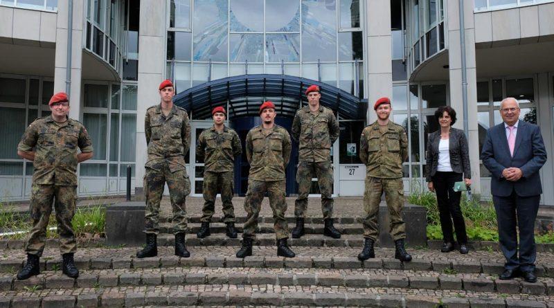 Verabschiedung Bundeswehr Soldaten