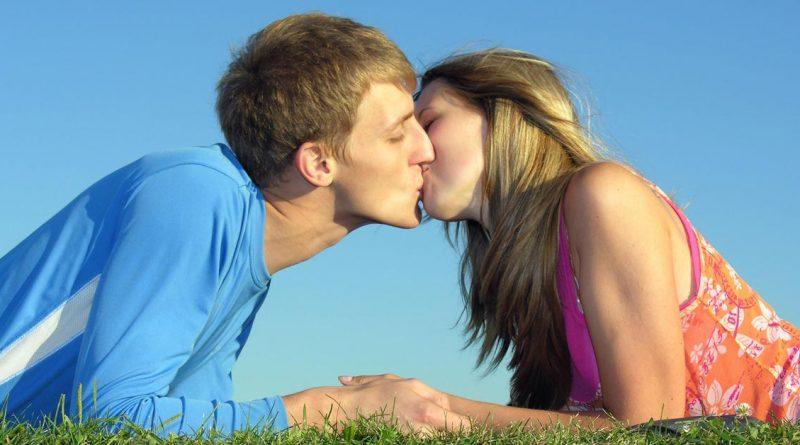 Ein inniger Kuss