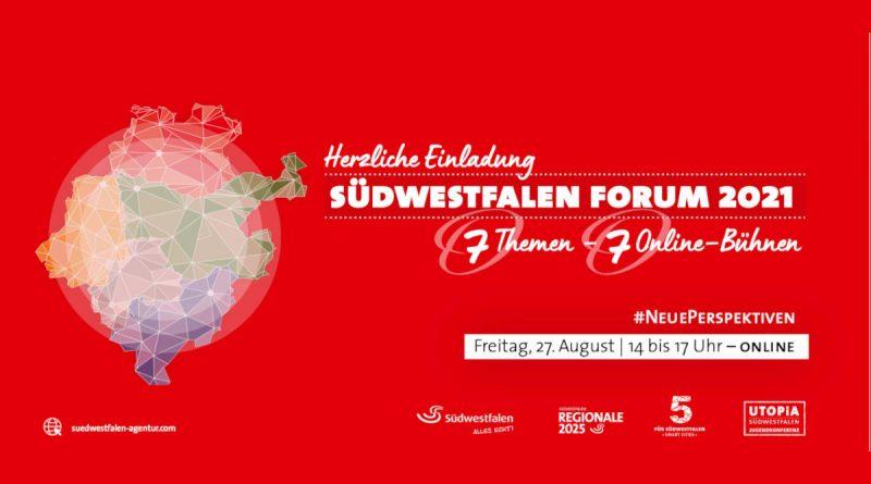 Einladung zum Südwestfalen Forum
