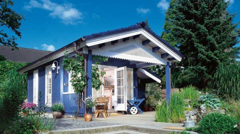 Ökologischer Holzanstrich für den Außenbereich