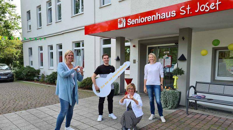 Neuer Mitarbeiter in den Seniorenhäusern