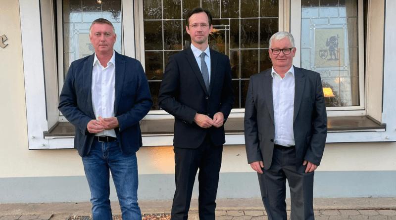 Frank Neuhaus, Dirk Wiese und Hubertus Weber