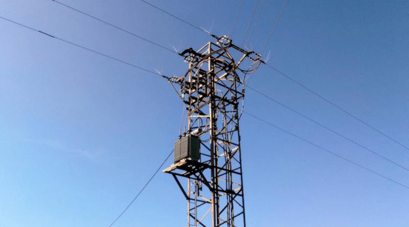 Stromtransformator bei Brilon