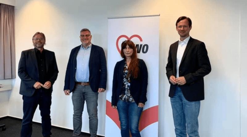 Dirk Wiese traf AWO-Bundespräsident, Michael Gross