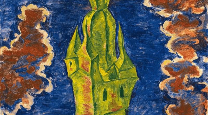 Turm in Brilon, um 1922