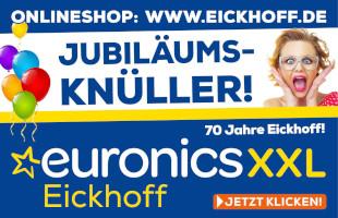 Jubiläums Knüller bei EURONICS
